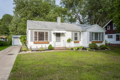 Fairview Park Single Family Home For Sale: 4028 W 220th Street