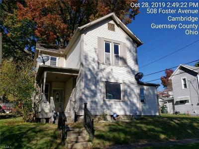 Cambridge Single Family Home For Sale: 515 Foster Avenue