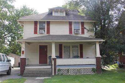 Warren Single Family Home For Sale: 731 Woodbine Avenue