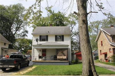 Warren Single Family Home For Sale: 864 Willard Avenue