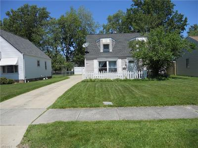 Willowick Single Family Home For Sale: 29117 Edgewood Drive