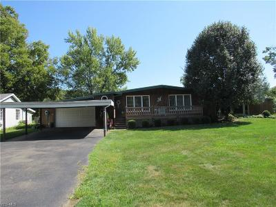 Zanesville Single Family Home For Sale: 3110 Riverside Airport Rd