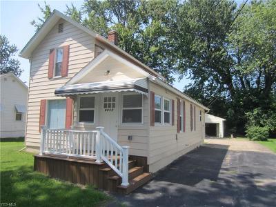 Lake County Single Family Home For Sale: 8517 Lake Shore Boulevard