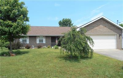 Belpre Single Family Home For Sale: 1454 Boulevard Dr
