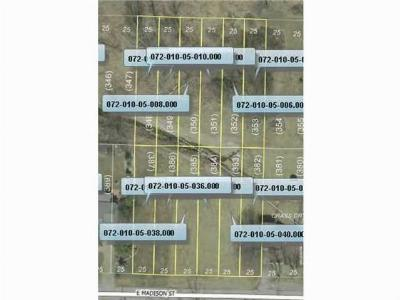 Residential Lots & Land For Sale: Madison Street
