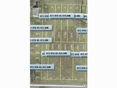 Montpelier OH Residential Lots & Land For Sale: $3,000
