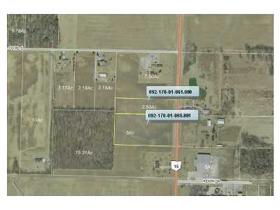 Pioneer OH Residential Lots & Land For Sale: $80,000