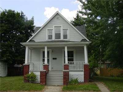 Montpelier OH Single Family Home For Sale: $45,000