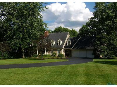Toledo Single Family Home Contingent: 4141 River Road