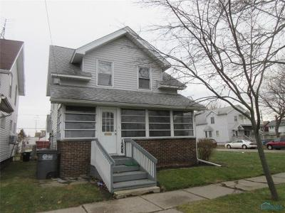 Toledo OH Single Family Home For Sale: $27,900