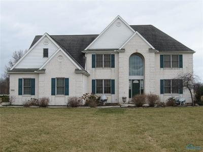 Curtice Single Family Home For Sale: 7660 Brown Road