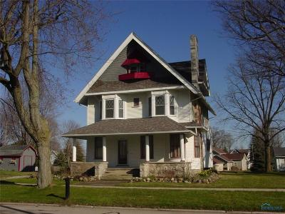 Stryker OH Single Family Home For Sale: $129,000