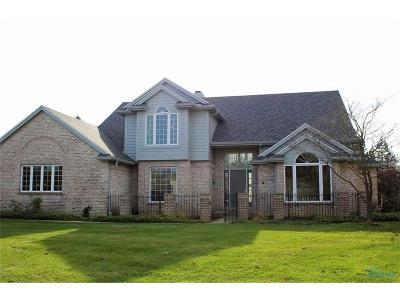 Maumee Single Family Home For Sale: 7705 Pebble Creek Drive