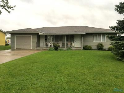 Bryan OH Single Family Home For Sale: $89,900