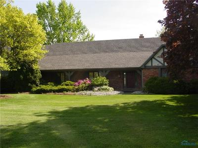 Holland Single Family Home Contingent: 6935 Pilliod Road
