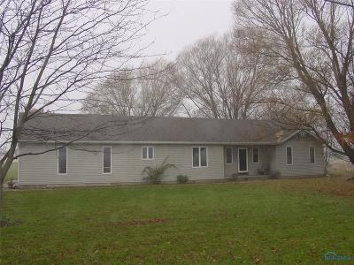 Edon OH Single Family Home Contingent: $95,000