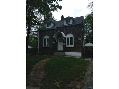 Toledo OH Single Family Home For Sale: $41,900