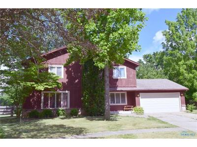 Maumee Single Family Home For Sale: 6428 Char Court