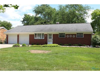 Maumee Single Family Home Contingent: 4349 May Drive
