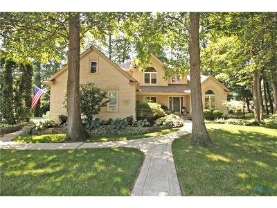 Maumee Single Family Home Contingent: 3537 Cedar Creek Court