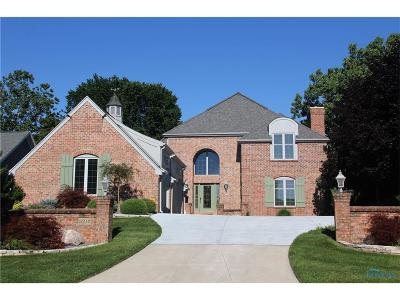 Maumee Single Family Home Contingent: 3212 Deep Water Lane
