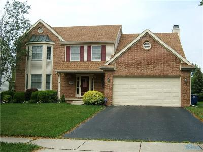 Perrysburg Single Family Home For Sale: 307 Valley Lane
