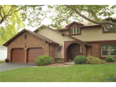 Perrysburg Single Family Home For Sale: 895 Mill Road