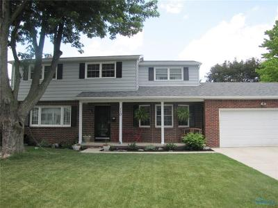 Rossford Single Family Home Contingent: 110 Hoffman