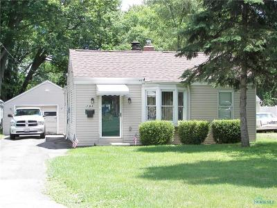 Toledo OH Single Family Home For Sale: $57,900