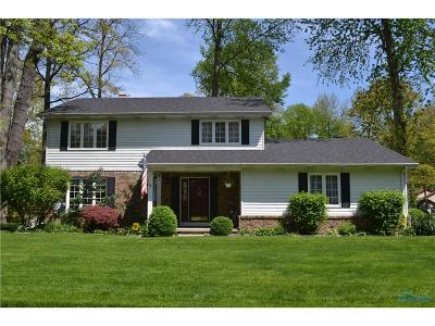 Maumee Single Family Home For Sale: 6720 Willowood Avenue
