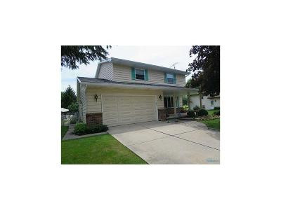 Maumee Single Family Home Contingent: 528 Fairfield Park Drive