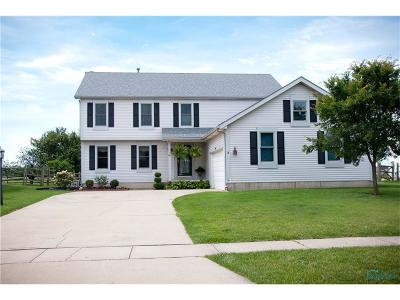 Perrysburg Single Family Home Contingent: 2074 Coe Court