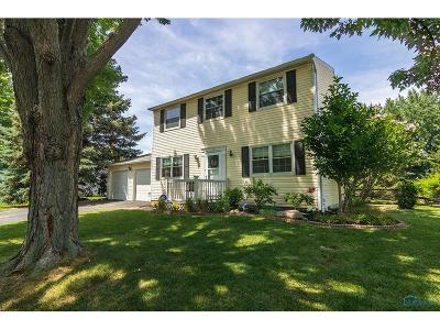Perrysburg Single Family Home Contingent: 10452 Cliffwood Road
