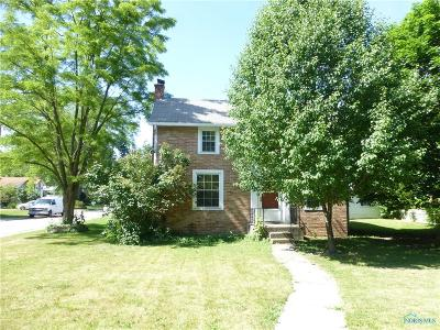 Maumee Single Family Home For Sale: 1401 River Road
