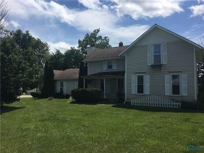 Perrysburg Single Family Home For Sale: 10419 Roachton Road