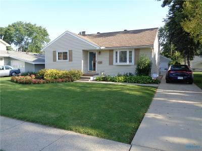 Maumee Single Family Home Contingent: 681 Midfield Drive