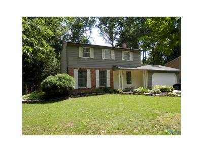 Sylvania Single Family Home For Sale: 7617 Bonniebrook Road