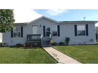 Perrysburg Single Family Home For Sale: 27484 Oregon Rd #240