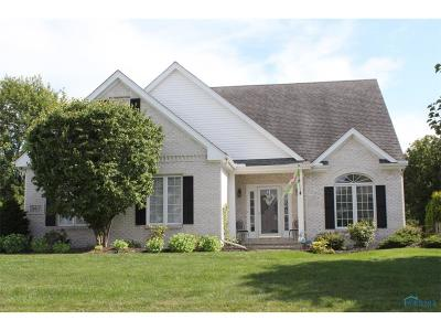 Maumee Single Family Home Contingent: 6617 Buck Creek Drive