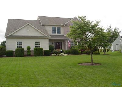 Perrysburg Single Family Home For Sale: 14511 Belmont Court