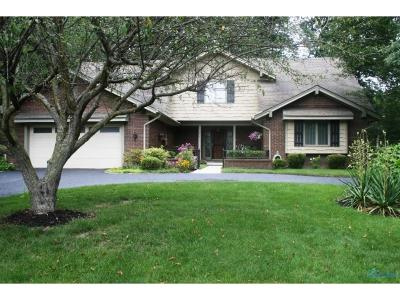 Toledo Single Family Home Contingent: 5738 Swan Creek Drive