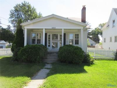 Toledo OH Single Family Home For Sale: $76,900