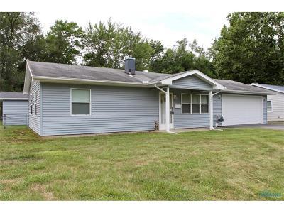 Sylvania Single Family Home For Sale: 5831 Durbin Road