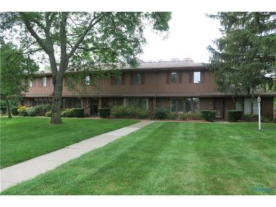 Toledo Condo/Townhouse Contingent: 4069 Sherwood Forest Manor Road #A-2