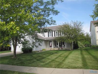 Perrysburg Single Family Home Contingent: 1327 Doncogan Court