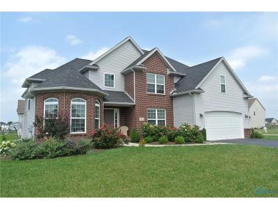 Perrysburg Single Family Home Contingent: 10854 Sun Trace