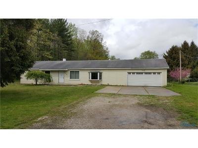 Swanton Single Family Home For Sale: 3507 County Road 2 County Road
