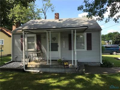 Toledo OH Single Family Home For Sale: $126,000