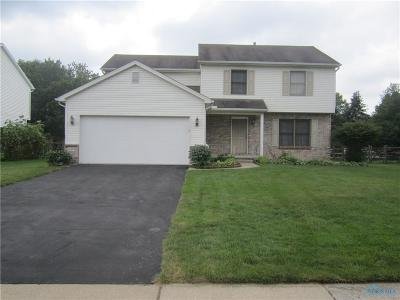 Toledo Single Family Home Contingent: 8255 Deerpointe Drive