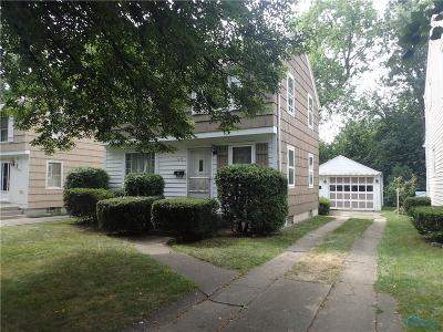 Toledo OH Single Family Home For Sale: $34,900